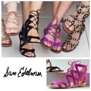 ad17f8f91 Sam Edelman Shoes - SUPER PRETTY Sam Edelman Dawson cage sandals 10.5